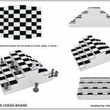 Pyramid Chess Board
