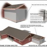 Steel Frame Storm Shelter